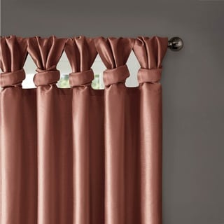 Madison Park Natalie Twisted Tab Curtain Panel