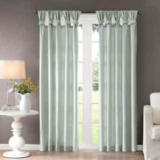 Madison Park Natalie Twisted Tab Curtain Panel|https://ak1.ostkcdn.com/images/products/8582848/P15855802.jpg?impolicy=medium