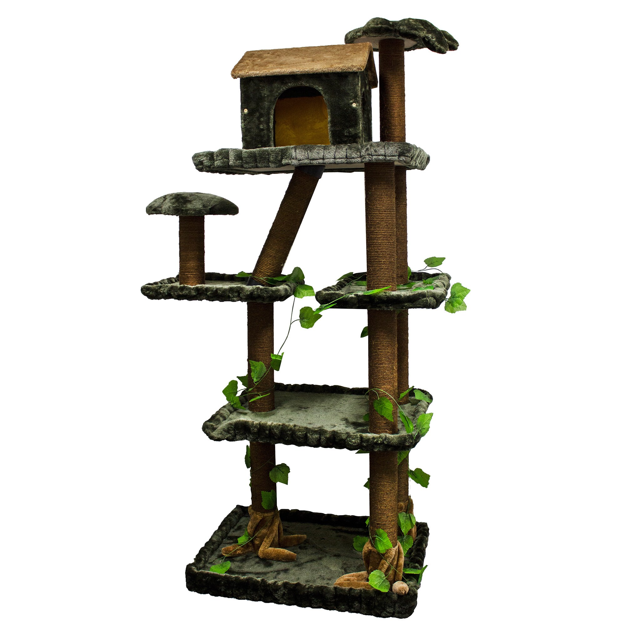 Kitty Mansions Sequoia Cat Tree Furniture Ebay # Muebles Sequoia