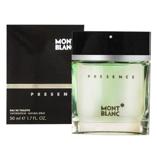 Mont Blanc Presence Men's 1.7-ounce Eau de Toilette Spray