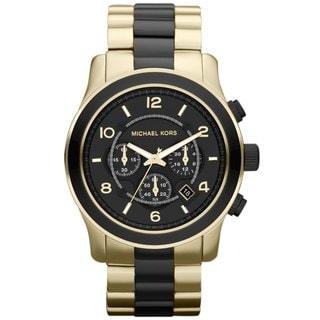 Michael Kors Men's MK8265 Chronograph Black Dial Watch