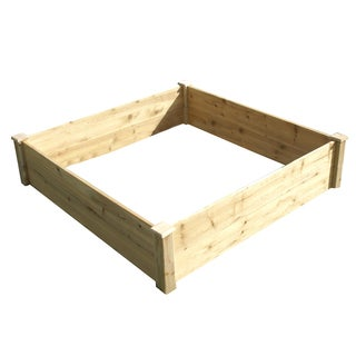 Eden Raised Garden Bed - Brown