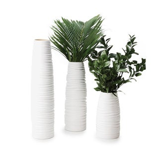 Impulse! White Nordic Vases