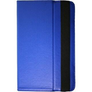 Visual Land Prestige 10 Folio Tablet Case (Blue)