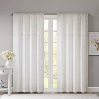 Madison Park Kylie Horizontal Ruffle Flippable Curtain Panel|https://ak1.ostkcdn.com/images/products/8583824/P15856538.jpg?impolicy=medium