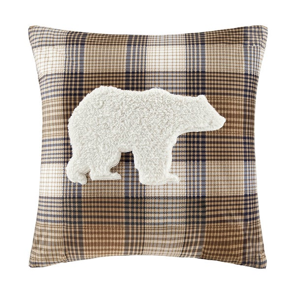 Woolrich Lumberjack Square Pillow Free Shipping On