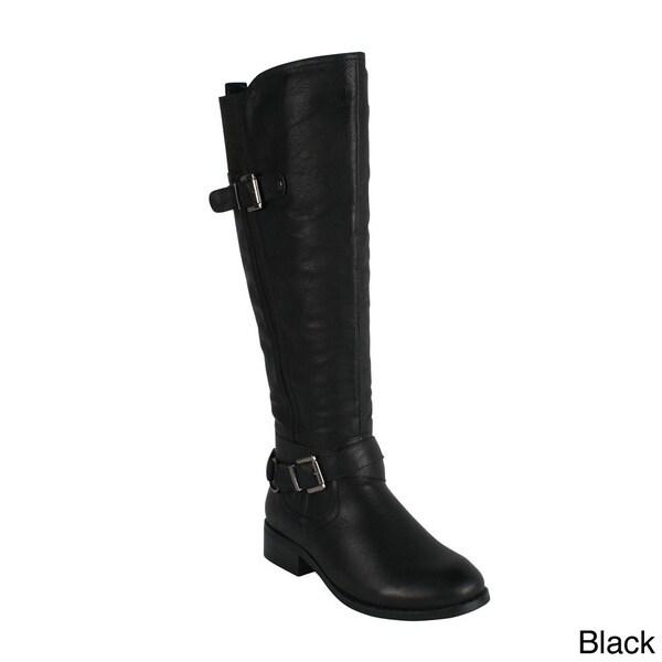 Reneeze HONEY-3 Women's Side Zip Knee-High Riding Boots