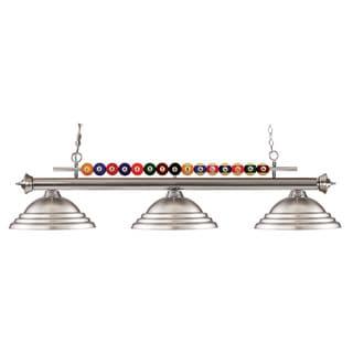 Z-Lite 3-light Billiard Fixture