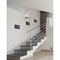Avery Home Lighting Brushed Nickel Modern 3-light Chandelier