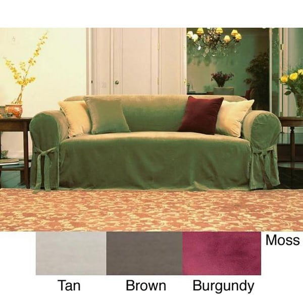Couch Cover With Ties