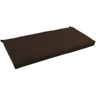 Blazing Needles 42-inch Solid Indoor Bench Cushion