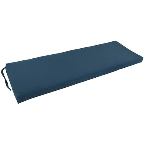 Blazing Needles 60-inch Solid Indoor Bench Cushion