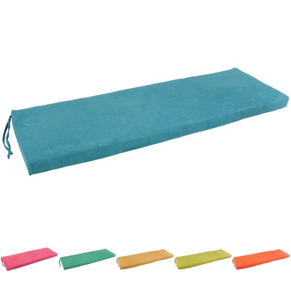 Blazing Needles 60 Inch Microsuede Indoor Bench Cushion 60 X 19 Free Shipping Today