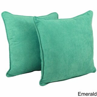 The Curated Nomad Yorba 25-inch Microsuede Floor Pillows