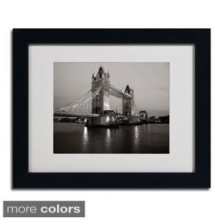 Chris Bliss 'Tower Bridge I' Framed Matted Art