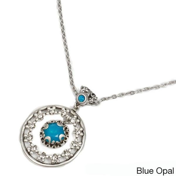 Sweet Romance Jewel Circle Necklace