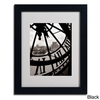 Chris Bliss 'Big Clock' Framed Matted Art (4 options available)