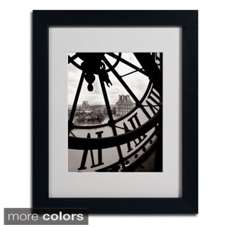 Chris Bliss 'Big Clock' Framed Matted Art