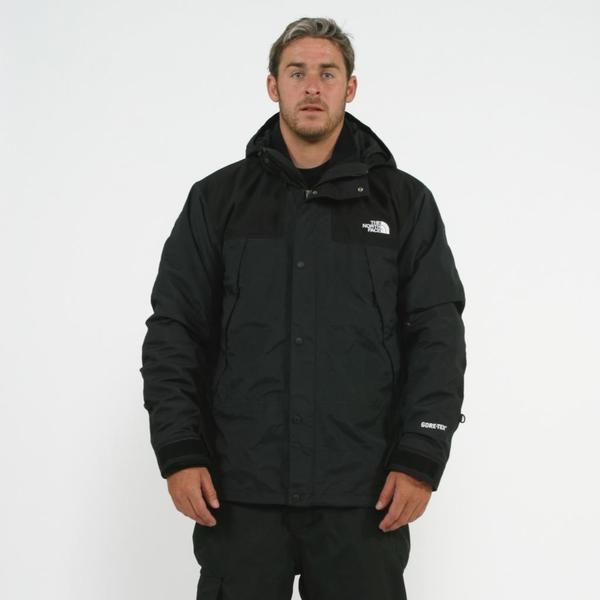 be256d6c6e Shop The North Face Men s TNF Black Mountain Denali Tri Jacket ...