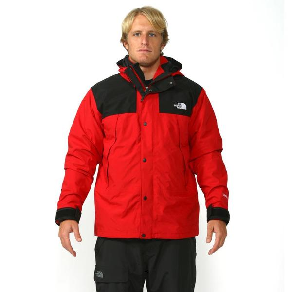 3397124bbe Shop The North Face Men s Red   Black Mountain Denali - Free ...