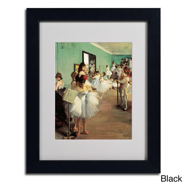 Edgar Degas Dance Examination 1873 74 Framed Matted Art