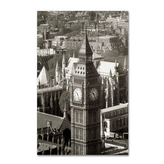 Michael de Guzman 'Big Ben View II' Canvas Art