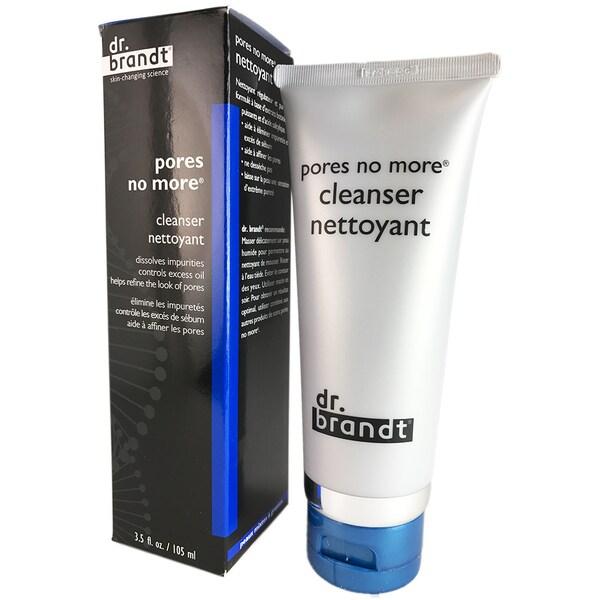 Dr. Brandt - Pores No More Cleanser -105ml/3.5oz Mega Moisturizer SPF 15 for Normal/Dry Skin/1.7 oz.