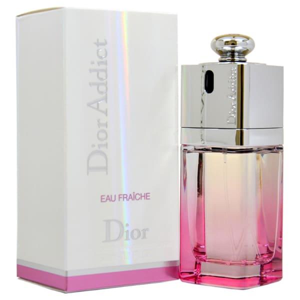 Christian Dior Women's Dior Addict Eau Fraiche 1 7-ounce Eau de Toilette  Spray