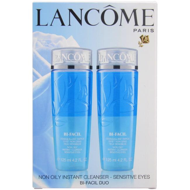 Lancome Bi-Facial 2-piece Set 4.2-ounce Bi-Facial Non Oily Instant Cleanser Sensitive Eyes