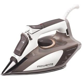 Rowenta DW5080 Beige Focus Auto Shut Off, 400-Hole Stainless Steel Soleplate Steam Iron, 1700-Watts