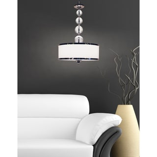 Z-Lite 3-light Chrome Pendant
