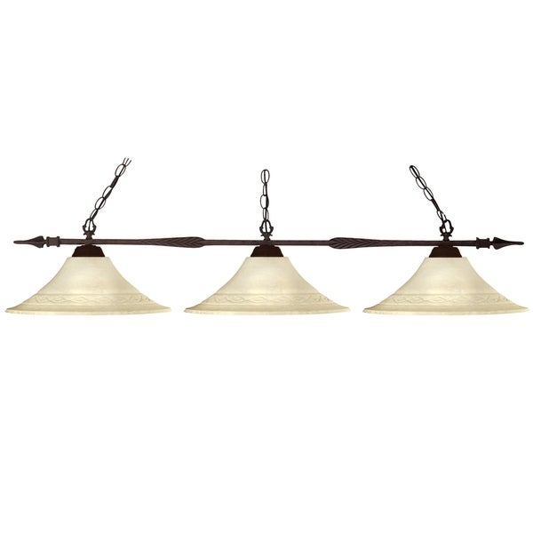 Avery Home Lighting Elegant 3-light Billiard