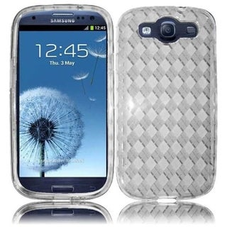 INSTEN Premium Clear TPU Rubber Candy Skin Phone Case Cover for Samsung Galaxy S3/ S III GT-i9300