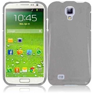 INSTEN Smoke Hard Plastic Snap-on Transparent Clear Phone Case Cover for Samsung Galaxy S4 LTE/ S4