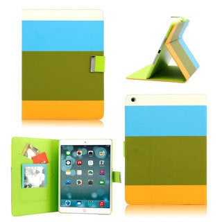 Gearonic Wallet PU Leather Card Holder Magnetic Flip Cover Case for Apple iPad 5 Air