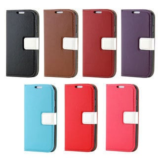 Gearonic Wallet PU Leather Magnetic Case for Samsung Galaxy S4 i9500