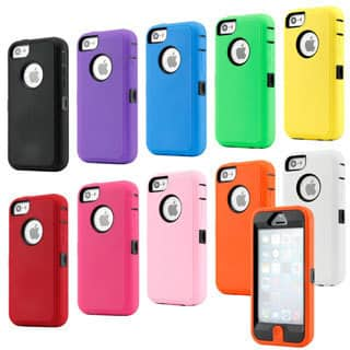 Gearonic 3 Piece Hybrid Hard PC Soft Silicone Case Cover for iPhone 5C|https://ak1.ostkcdn.com/images/products/8585114/Gearonic-3-Piece-Hybrid-Hard-PC-Soft-Silicone-Case-Cover-for-iPhone-5C-P15857622.jpg?impolicy=medium