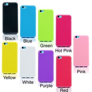 Gearonic Matte TPU solid hard Case Back Cover for Apple iPhone 5C