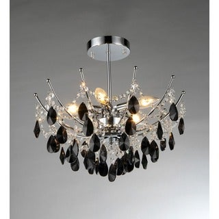 Rose Crystal Chandelier