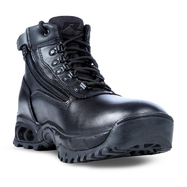 Durango mens black leather side zip western boots - Motorcycle Boots Side Zipper Motorcycle Review And Galleries