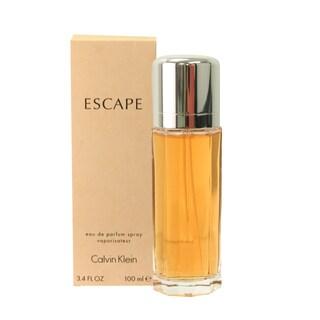 Calvin Klein Escape Women's 3.4-ounce Eau de Parfum Spray