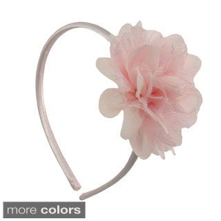 Chiffon and Lace Flower Headband