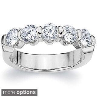 Amore 14k White or Yellow Gold 1.5ct TDW Diamond Ring (H-I, I1-I2)