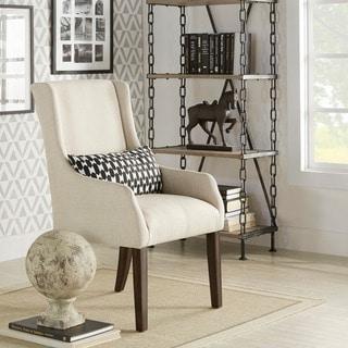 Jourdan Linen Sloped Arm Hostess Chair by INSPIRE Q