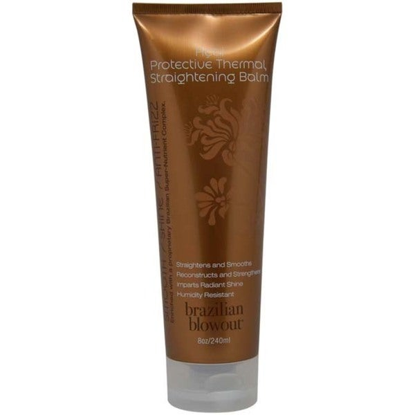 Brazilian Blowout Acai Protective Thermal Straightening 8-ounce Balm