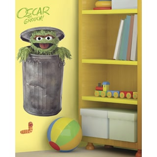 Sesame Street Oscar Peel and Stick Giant Wall Decal