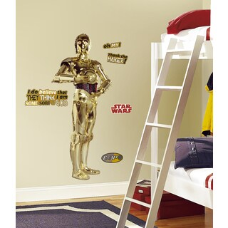 Star Wars Classic C3PO Peel and Stick Giant Wall Decal