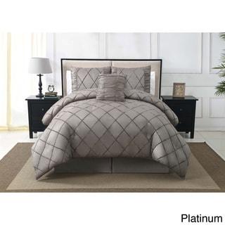 VCNY Santiago Velvet 4-piece Comforter Set