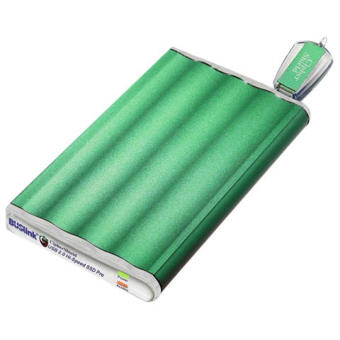 "Buslink CipherShield DSE-1T-U2 1 TB Portable Hard Drive - 2.5"" External - SATA"