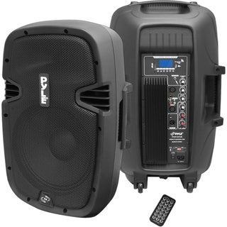 PylePro PPHP1237UB Speaker System - 450 W RMS - Wireless Speaker(s)